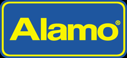 Alamo car rental at Vancouver Airport, Canada