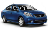 Nissan Versa car rental at Vancouver Airport, Canada